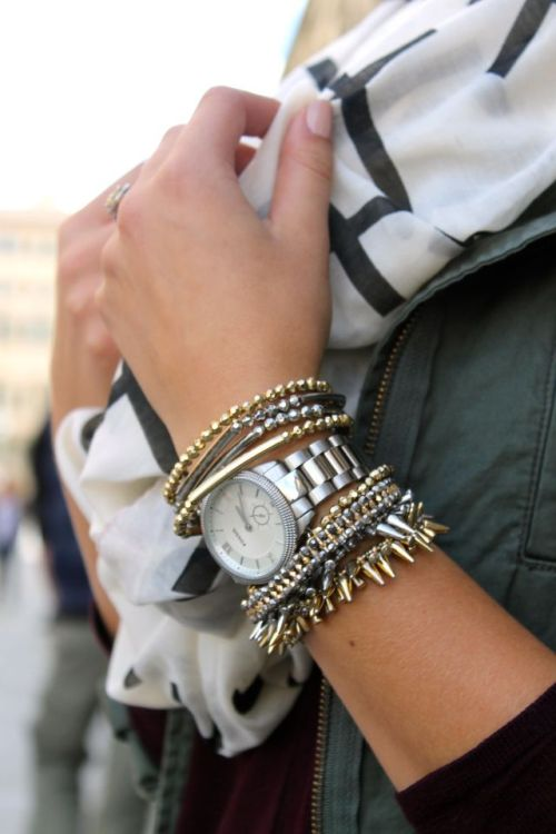 mixed metal fashion