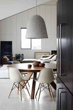 modern creams & gray living room