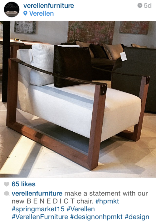 New Chair @  Highpoint - via verellenfurniture on Instagram