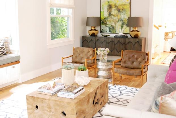 owens & davis boho living room