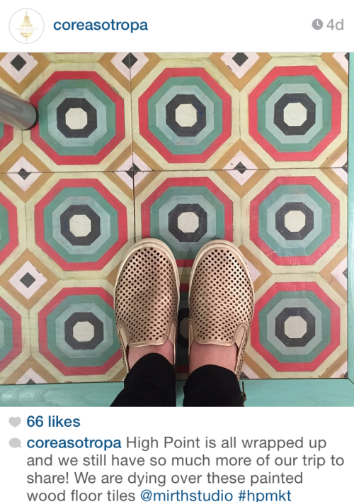 Tile @ Highpoint - via coreasotropa on Instagram