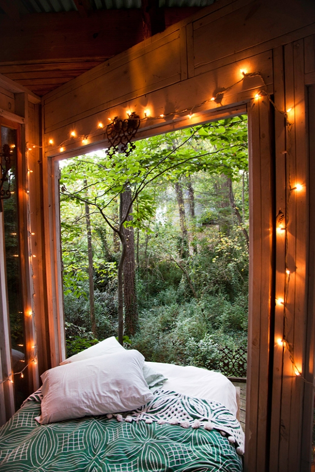 treehouse bedroom!