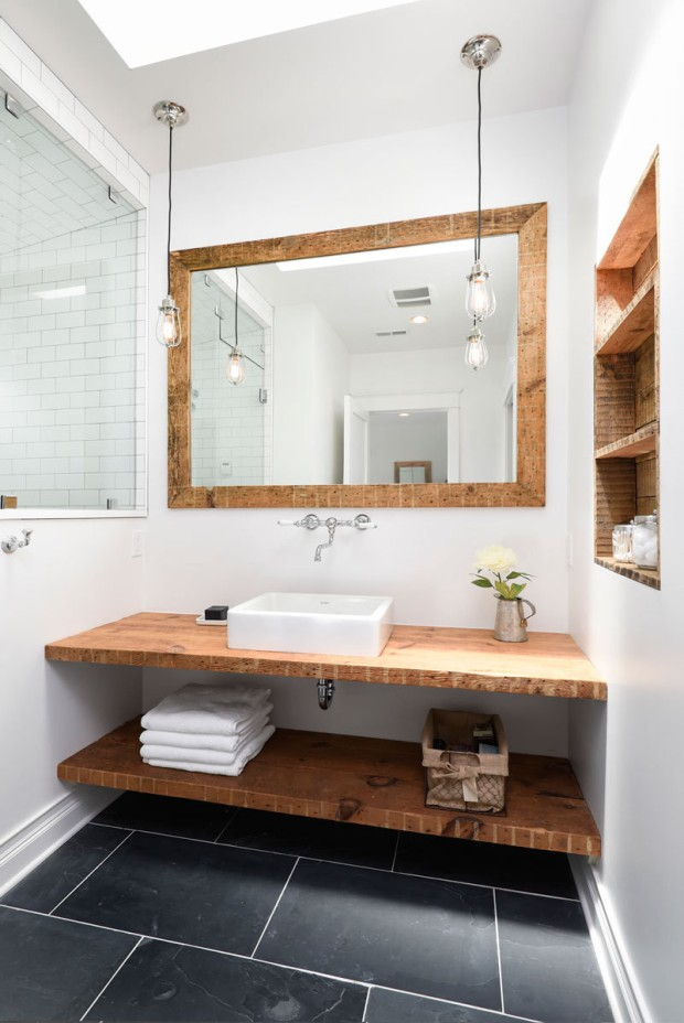 Modern Farmhouse Bath