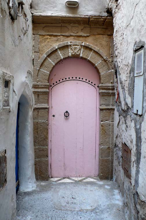 Door in Essaouira Morocco - by Maryam Montague