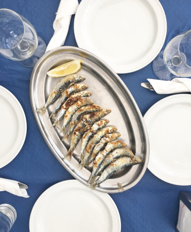 Grilled Sardines in Malaga - Photo by: Nataliya Borener