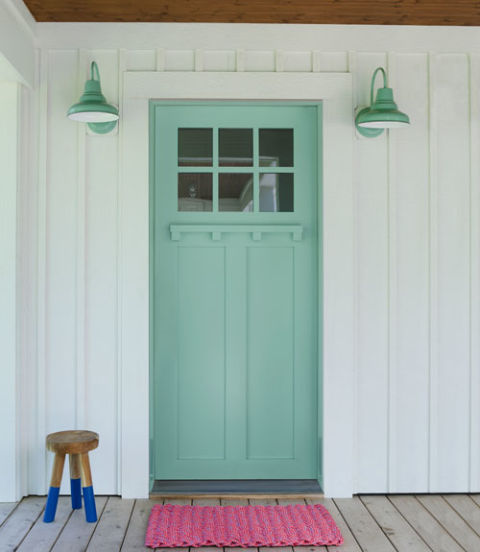 Jenny Piazza's Front Door - Country Living