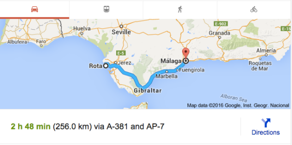 Rota to Malaga, Spain map.jpg