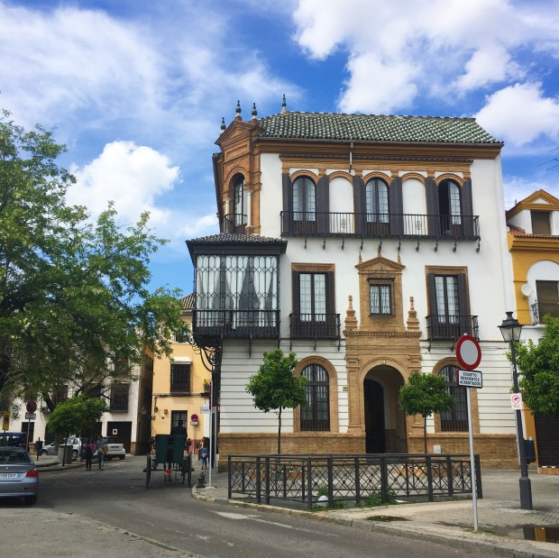 beautiful building in Sevilla
