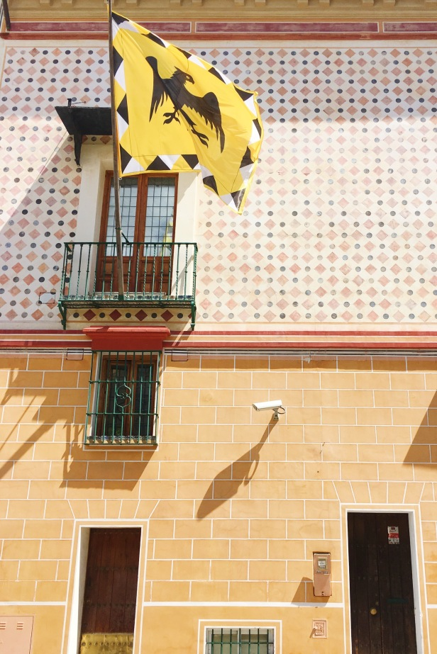 Building Detail in Sevilla