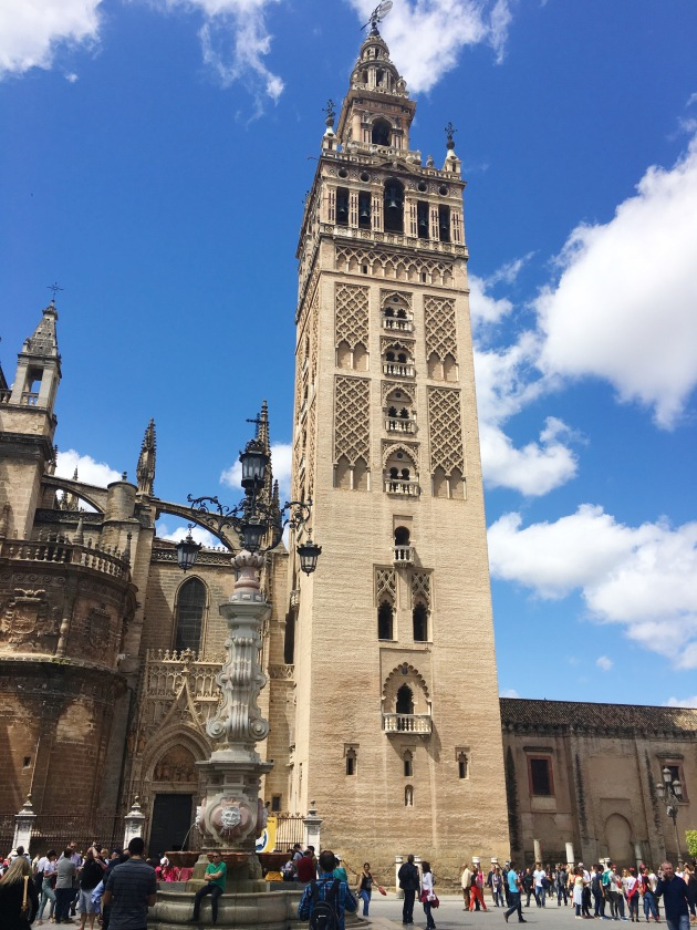 Cathedral Tower. SevillaJPG