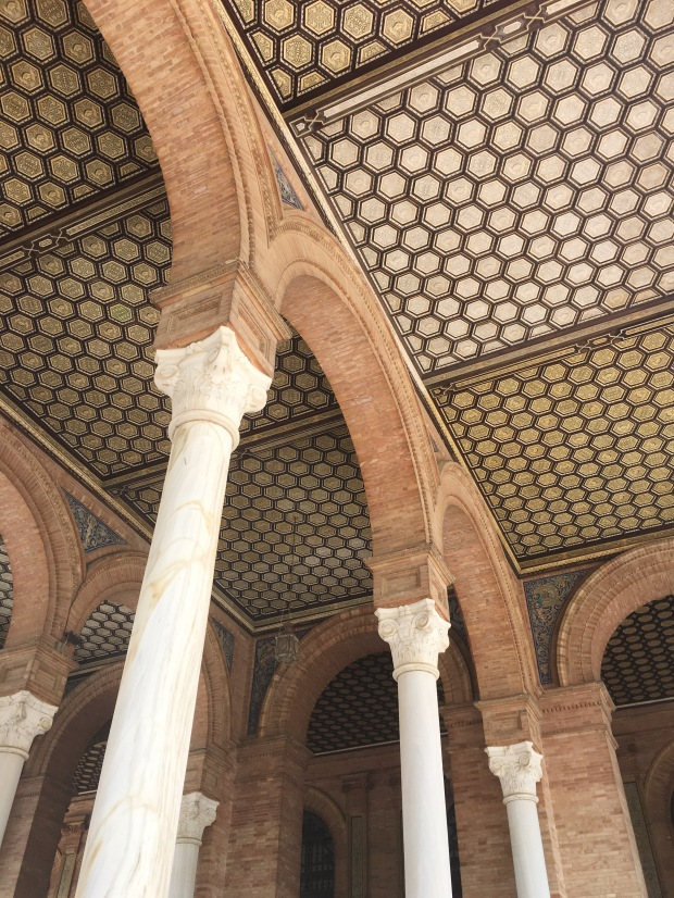 Plaza de Espana - ceiling detail