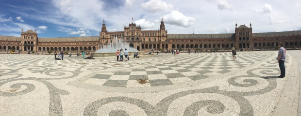 Plaza de Espana Panoramic