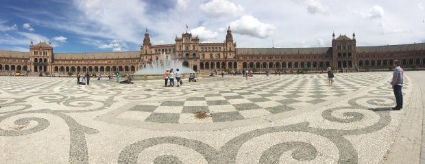 Plaza de Espana Panoramic
