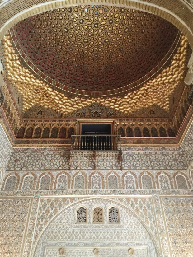 Favorite Ceiling in the Alcazar - Vim & Vintage Blog
