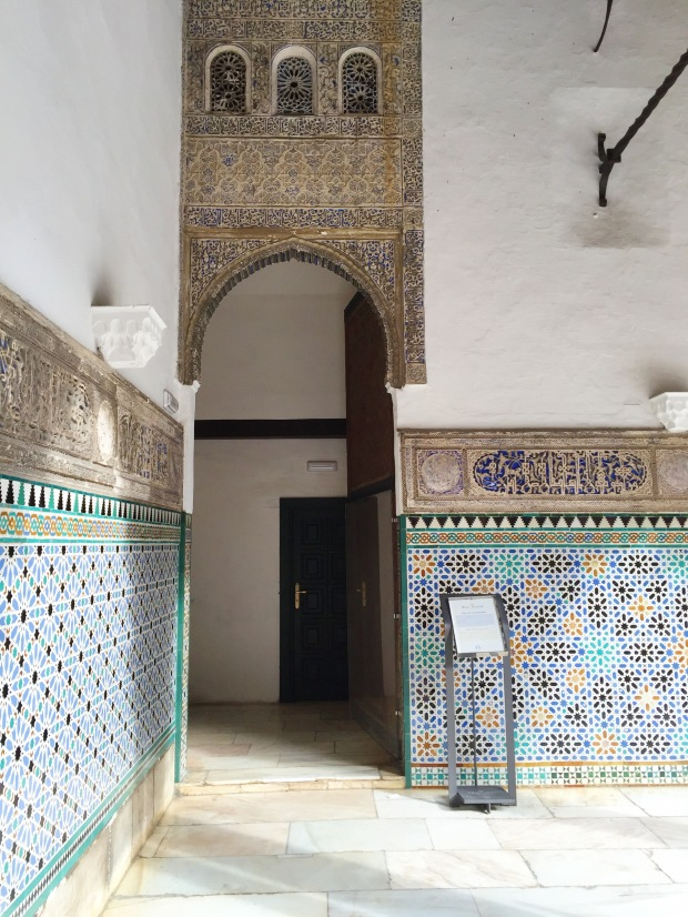 Moorish Tile Patterns at the Alcazar