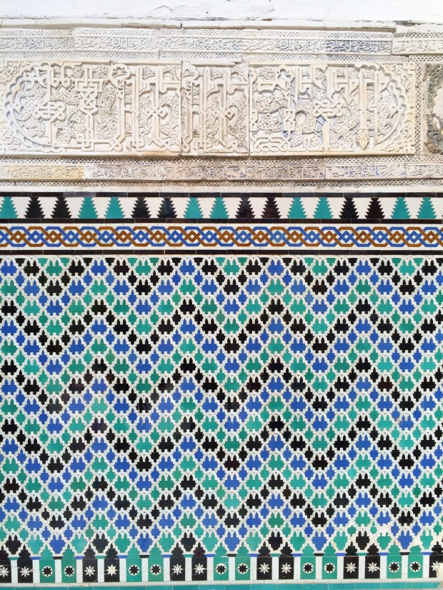 Tilework, Moorish Influence at the Alcazar, Seville, Spain - Vim & Vintage
